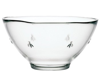 43607101 BEE SALAD BOWL 25CM