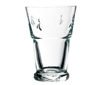 43710301 BEE BEER GLASS 40CL