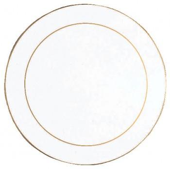round white tablemat