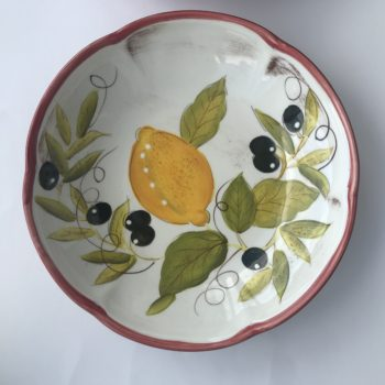 2 Laurie Gates Lemon Chatta Pasta Bowl